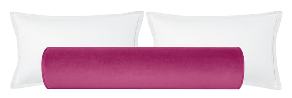 The Bolster :: Society Velvet // Cerise BACKORDER
