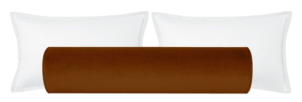 The Bolster :: Society Velvet // Cognac
