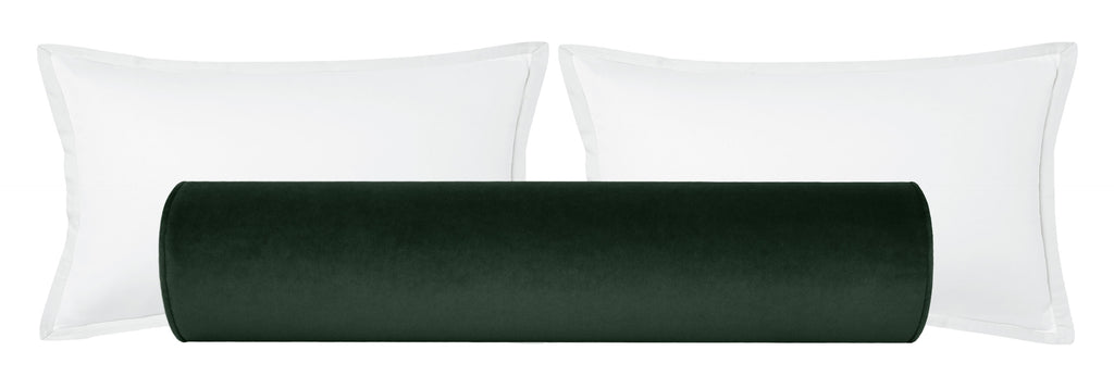 The Bolster :: Society Velvet // Emerald