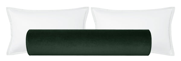 The Bolster :: Society Velvet // Emerald BACKORDER