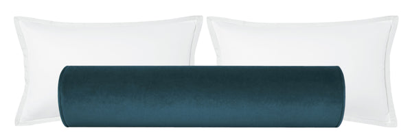 The Bolster :: Society Velvet // French Blue BACKORDER