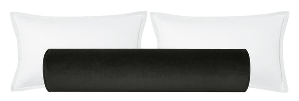 The Bolster :: Society Velvet // Graphite