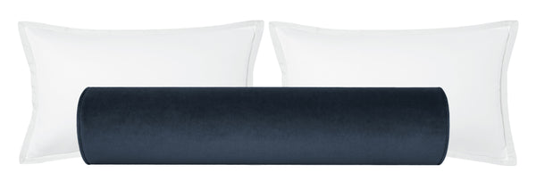 The Bolster :: Society Velvet // Prussian Blue