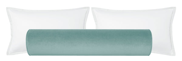 The Bolster :: Society Velvet // Sky Blue BACKORDER