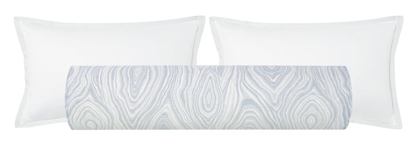 The Bolster :: Agate Linen Print // Cloud