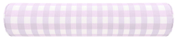 The Bolster : Charleston Check // Lavender