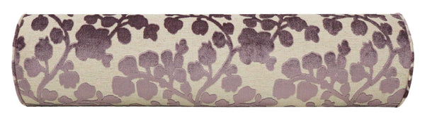 The Bolster :: Blossom Cut Velvet // Smokey Lavender BACKORDER