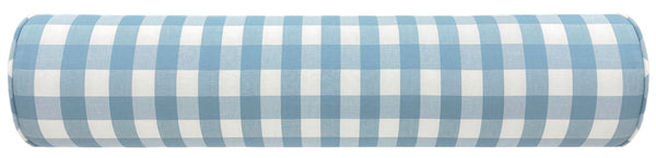 The Bolster : Charleston Check // Powder Blue