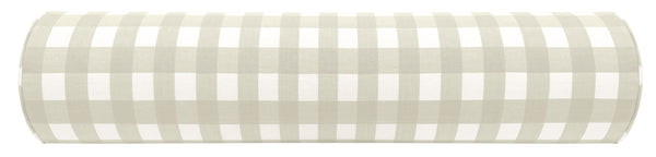 The Bolster : Charleston Check // Stone
