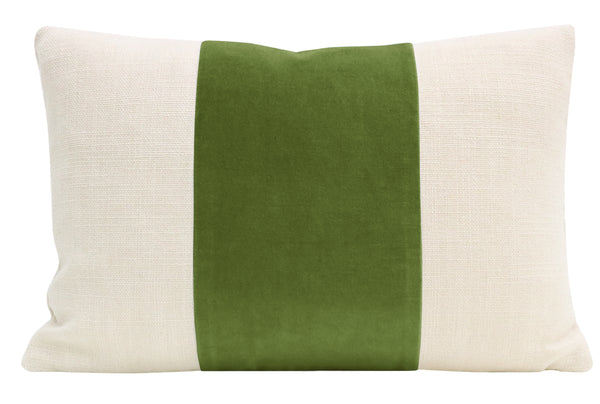 The Little Lumbar :: PANEL Classic Velvet // Peridot