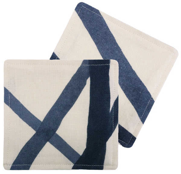 Cocktail Napkins :: Channels // Periwinkle