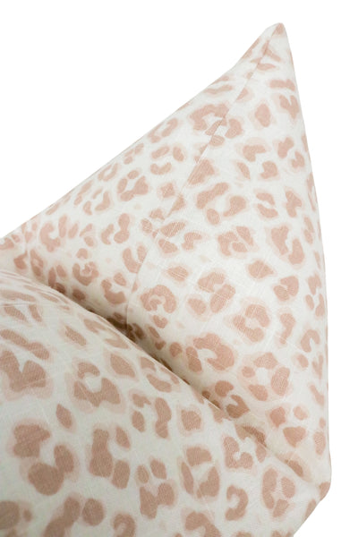 Cougar Linen Print // Blush BACKORDER