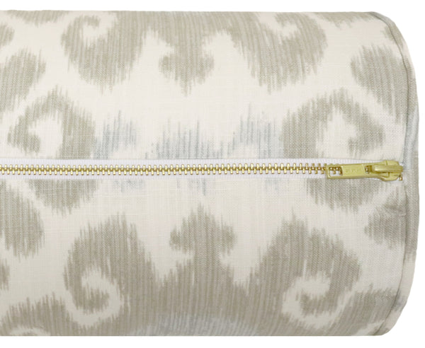 The Bolster :: East Hampton Ikat // Stone BACKORDER