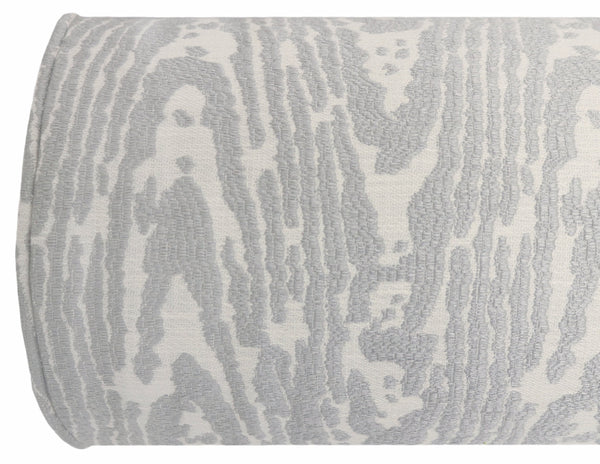The Bolster :: Faux Bois Chenille // Cloud