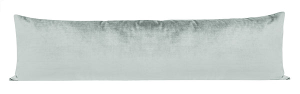 The XL Lumbar :: Faux Silk Velvet // French Grey