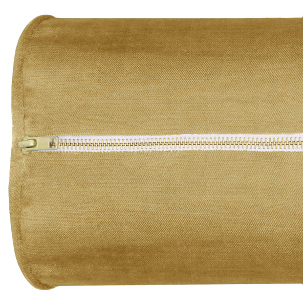 The Bolster :: Faux Silk Velvet // Gold