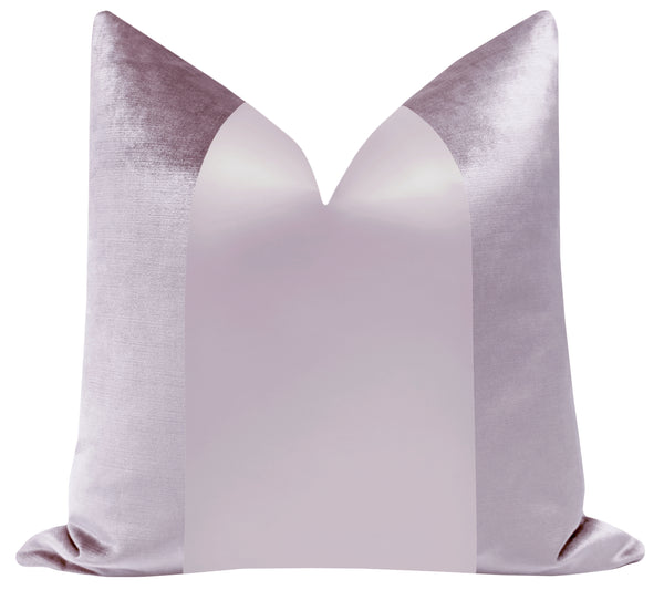 PANEL Monochromatic :: Faux Silk Velvet // Lavender