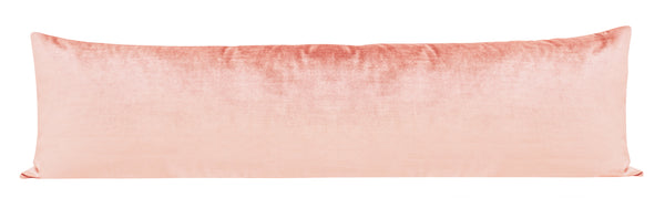 The XL Lumbar :: Faux Silk Velvet // Pink Peony BACKORDER