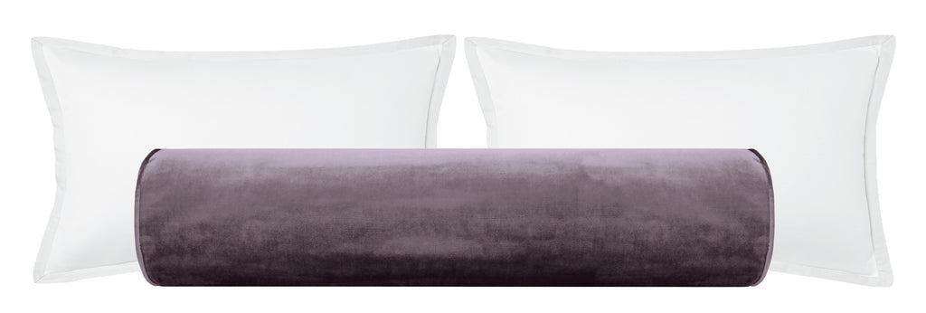 The Bolster :: Faux Silk Velvet // Smokey Amethyst