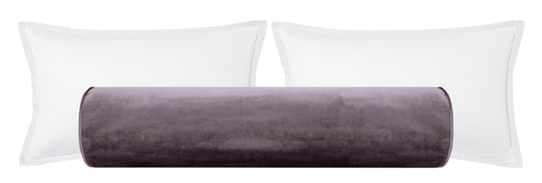 The Bolster :: Faux Silk Velvet // Smokey Amethyst BACKORDER