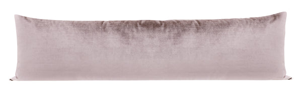 The XL Lumbar :: Faux Silk Velvet // Smokey Lavender