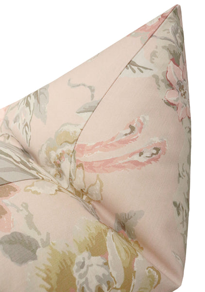 Floral Aviary Print // Blush