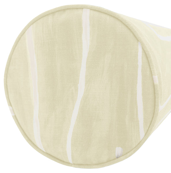 The Bolster :: Graffito // Beige + Ivory