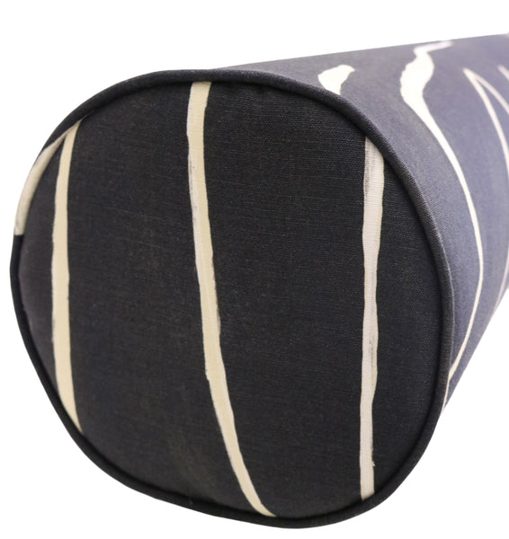 The Bolster :: Graffito // Onyx + Beige BACKORDER