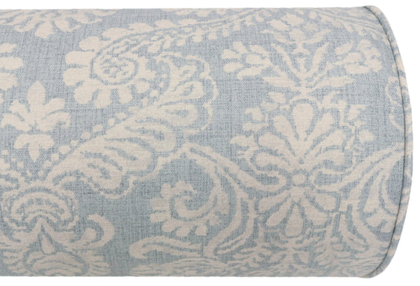 The Bolster :: French Damask Print // Sky Blue