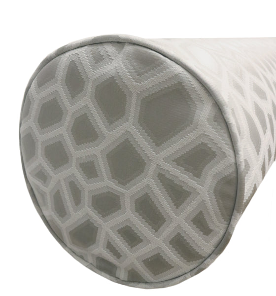 The Bolster :: Faux Silk Safari // Platinum