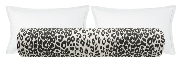 The Bolster :: Iconic Leopard // Graphite