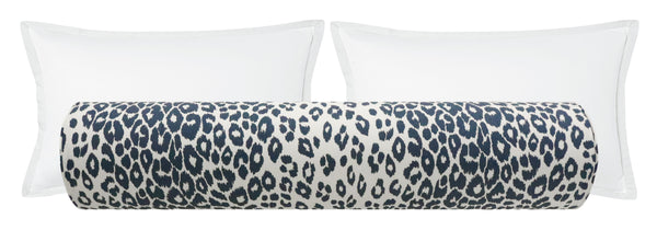 The Bolster :: Iconic Leopard // Ink