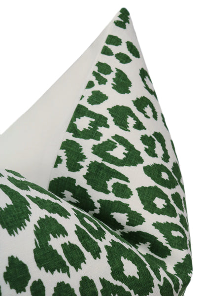 Iconic Leopard Print // Green BACKORDER