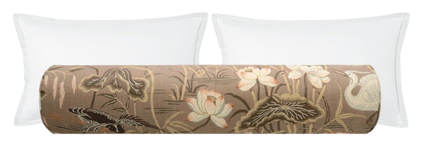The Bolster :: Lotus Garden // Mocha BACKORDER