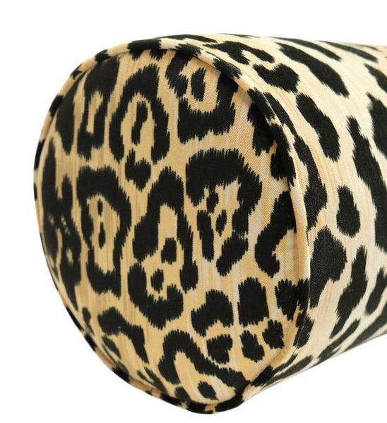 The Little Bolster :: Leopard Velvet BACKORDER
