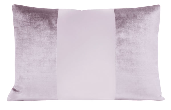 The Little Lumbar :: MONOCHROMATIC Faux Silk Velvet // Lavender