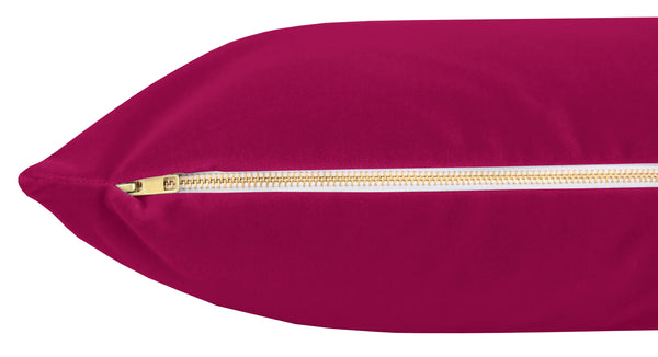 The XL Lumbar :: Studio Velvet // Magenta