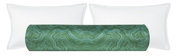 The Bolster :: Malachite Velvet // Emerald
