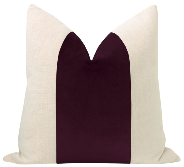 PANEL :: Classic Velvet // Mulberry