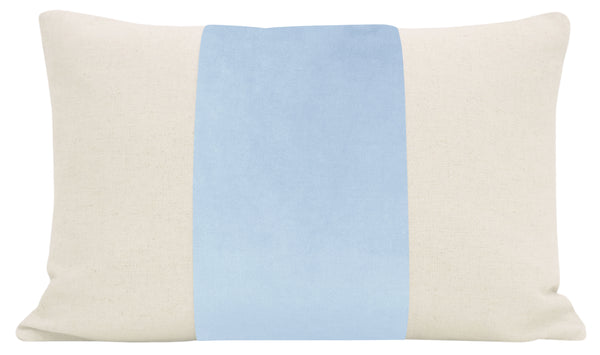 The Little Lumbar :: PANEL Classic Velvet // Powder Blue