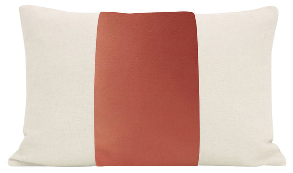 The Little Lumbar :: PANEL Classic Velvet // Coral