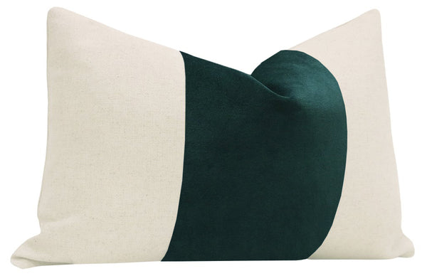 The Little Lumbar :: PANEL Classic Velvet // Emerald