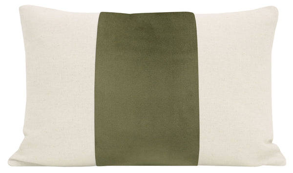 The Little Lumbar :: PANEL Signature Velvet // Bay Leaf