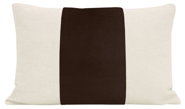 The Little Lumbar :: PANEL Signature Velvet // Chocolate