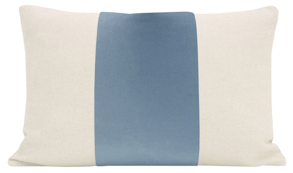 The Little Lumbar :: PANEL Signature Velvet // Hydrangea Blue