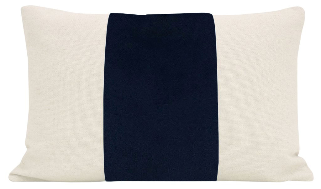 The Little Lumbar :: PANEL Signature Velvet // Navy Blue