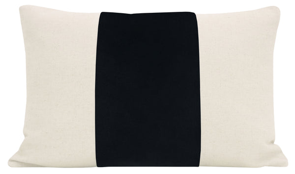 The Little Lumbar :: PANEL Signature Velvet // Noir