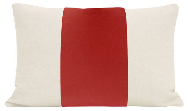 The Little Lumbar :: PANEL Signature Velvet // Rhubarb