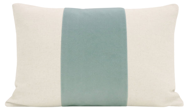 The Little Lumbar :: PANEL Signature Velvet // Sea Blue