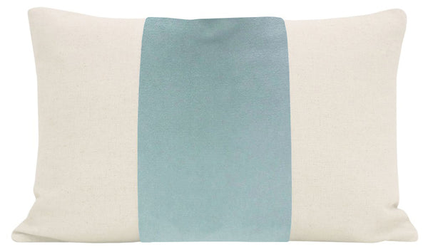 The Little Lumbar :: PANEL Signature Velvet // Spa Blue